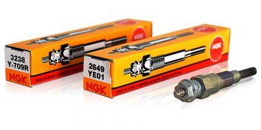 Glühstift & Batterie